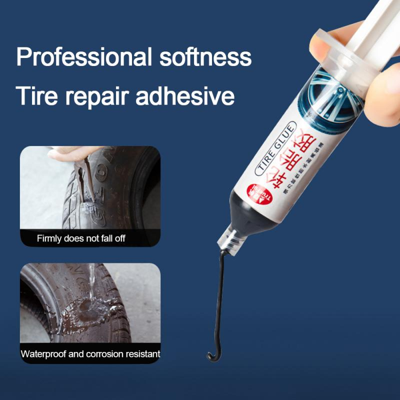 Car Motorcycle Repair Tool Motorcycle Tire Damage Repair Tire Strong Glue Auto Car Tire Rubber Repair Special Glue  TSLM1