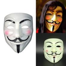 Masque de Cosplay de fête V bricolage, déguisement pour adultes, accessoire de Costume d'halloween pour fête, accessoires de décoration