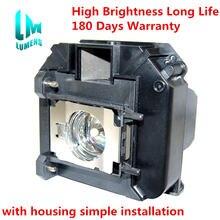 Лампа для проектора elplp60 elplp61 epson powerlite 420 425w
