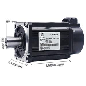 Image 2 - 750w 0.75kw 3000rpm 2.39NM 80 millimetri 220V AC Servo Motor & drive kit con 3m di cavo 2500 linea JMC 80JASM07230K 2500 + JASD7502 2500
