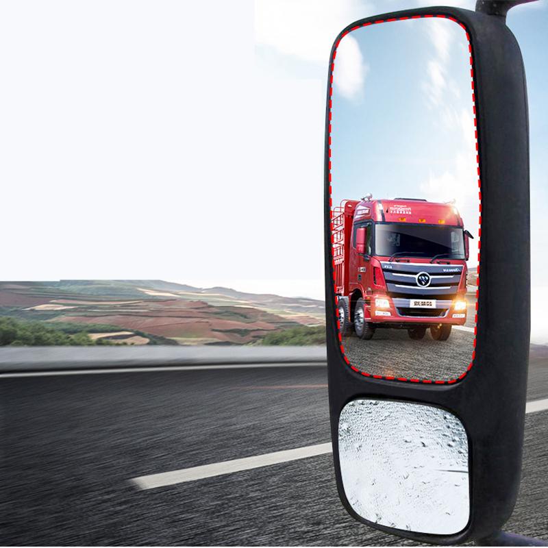 Rain Film Rearview Mirror Protective Film Anti-Glare Rain Anti-Fog Reflector Nano Films Flooding Hydrophobic For Truck Car