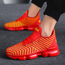 Yrrfuot moda masculina sapatos casuais de alta qualidade tamanho grande tênis para homens confortáveis respirável marca sapatos masculinos sapatos planos zapatos