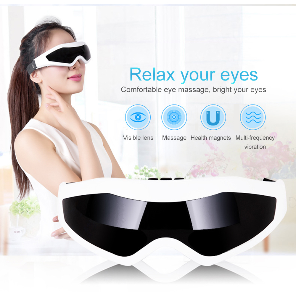 Electric Eye Massage Device Instrument Eye Protection Instrument Vibration Release Alleviate Fatigue Eye Care Health Massager