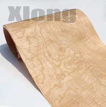 Length: 2.5 Meters Width: 55cm Thickness:0.3mm Natural White Phellodendron Bark Wood Veneer