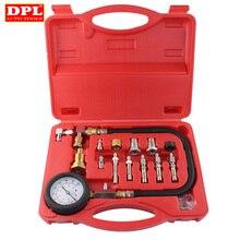 Kit de herramientas de prueba de compresión de motor diésel de TU 15A, medidor de presión de cilindro, 0 ~ 1000PSI