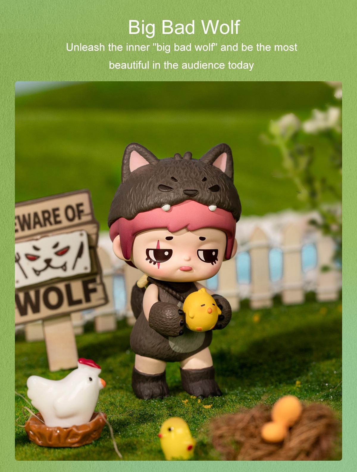 Rolife Blind Box Figure Surprise Dolls - Yoola Idyll Series