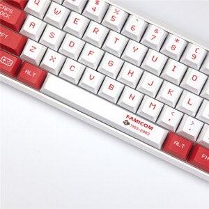 Image 5 - Sega Mario Keycap Cherry Original Profile 5 face DYE Sublimation Mechanical Keyboard Keycaps 1.75U 2U 2.25U Shift 6.25U Spacebar