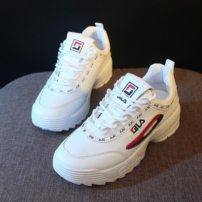 2020 Dad Shoes Women Sneakers Women's Fashion New Sports Shoes Mesh Platform Bottom Women's Shoes 2019 New Women's Shoes