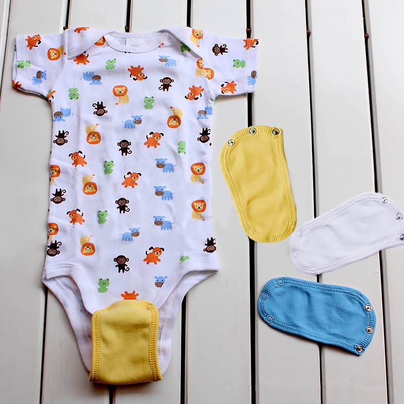 1pcs Baby Jumpsuit Extended Film Cotton Blend Baby Romper Clothes Extension Clothes Baby Romper Infant Onesie Costume