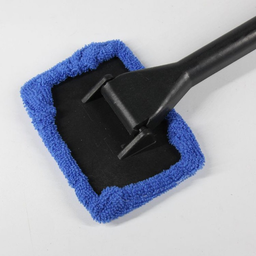 New Car Mop Cleaning Windows Windshield Fog Cleaning Tool Brush Washing Rag Wipe Duster Home Office Auto Windows Glass Cloth(China)