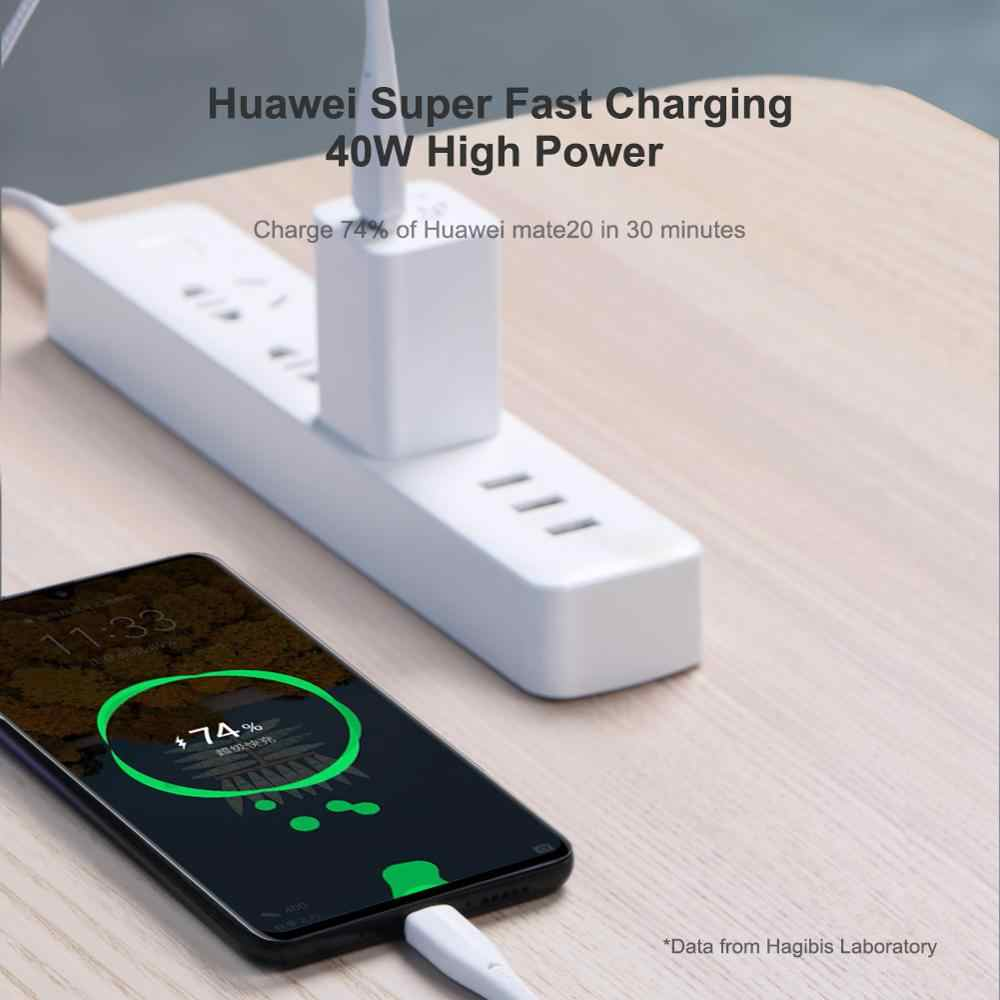 Hagibis USB Tipe C Kabel untuk Samsung S10 S9 5A 40W Biaya Cepat USB-C Pengisian Kawat Usb C Kabel untuk Xiaomi Mi9 Redmi Note7 Huawei