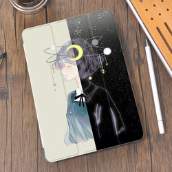 Anime Girl Boy for Air 4 iPad Case Pencil-Holder 10.2 2020 7th 8th 11 Pro 12.9 2018 Mini 5 Cover Silicone For 10.5 Air 1 2 3