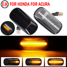 For Civic CRV Accord City Fit Jazz HRV Stadt Stream Odyssey RSX NSX Led Dynamic Turn Signal Light Side Marker Sequential Lamp