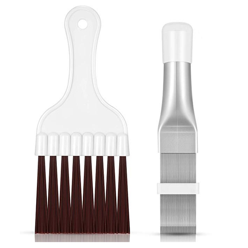 Air Conditioning Fin Comb Condenser Cleaning Comb Refrigeration Repair Tool Cleaning Brush Fin Comb Brush Cleaning Accessory