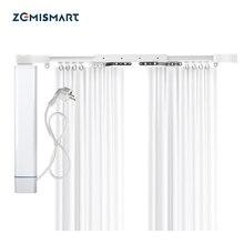 Zemismart Tuya Smart Zigbee 3.0 Slide Motor with Customized Curtain Track Remote Control Alexa Google Home Voice Control