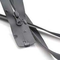 5 #50/55/60/65/70/75/80/85/90/ 95/100/120/150 cm nylon Wasserdichte zipper Offene kleidung für sewing reiß
