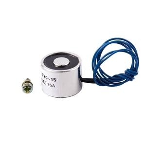 Мини Электромагнит соленоид 12 В Электромагнит 12 вольт небольшой Электромагнит удерживающий Электромагнитный Подъемный электромагнитный ...