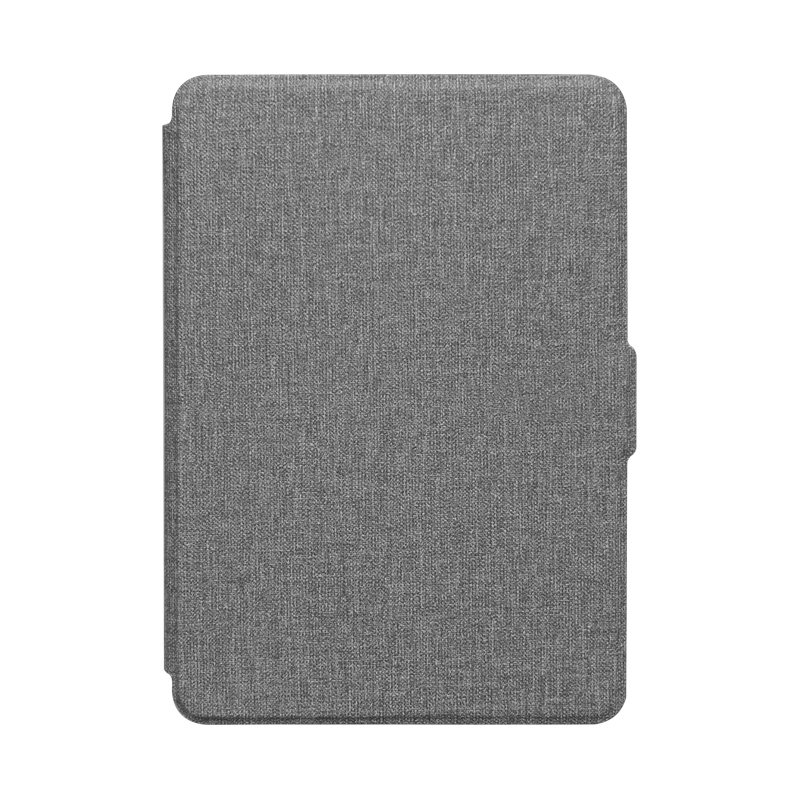 For All-New Kindle 2019 Case Cloth Texture PU Leather Smart Case PC Back Hard Cover for All-New Kindle 10th J9G29R 2019 Released-5