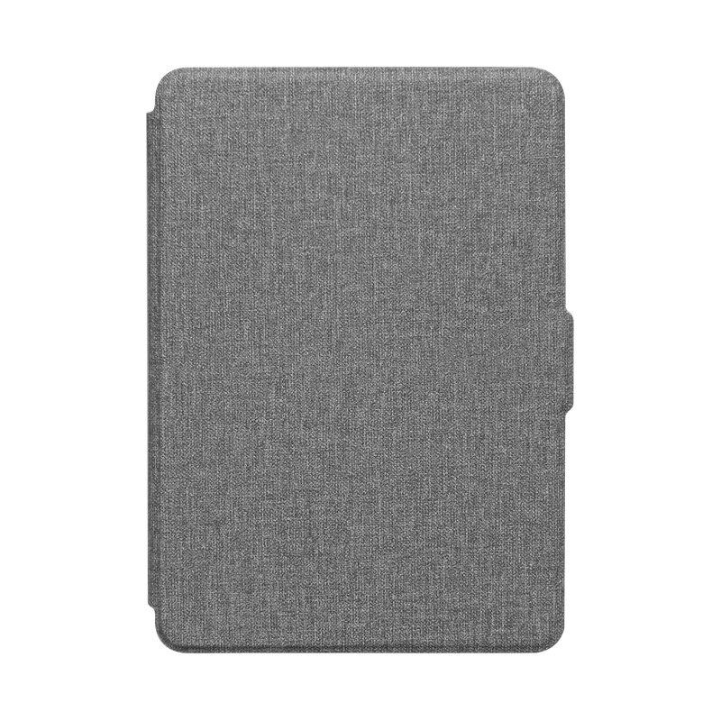 Чехол для Kindle 2019 из искусственной кожи с текстурой ткани, умный чехол для ПК, Жесткий Чехол для всех, новинка Kindle 10th J9G29R, 2019-5