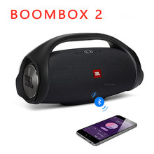 Boombox 2 Portable Bluetooth Wireless Audio Outdoor Speaker IPX7 Waterproof Loudspeaker Music Subwoofer Stereo Charge 4 3
