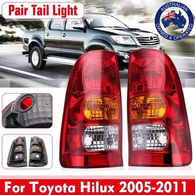 Paar Auto Schwanz Licht Bremsleuchte Blinker Licht Warnung Stop Für Toyota Hilux 2005 2006 2007 2008 2009 2010 2011 auto Zubehör