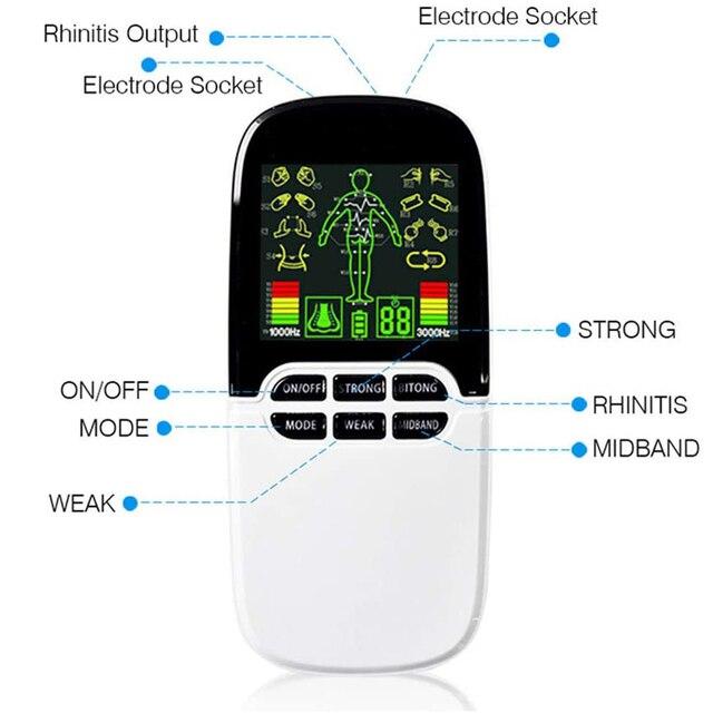 Купить устройство для массажа тела 2 в 1 цифровой электронный импульсный картинки цена