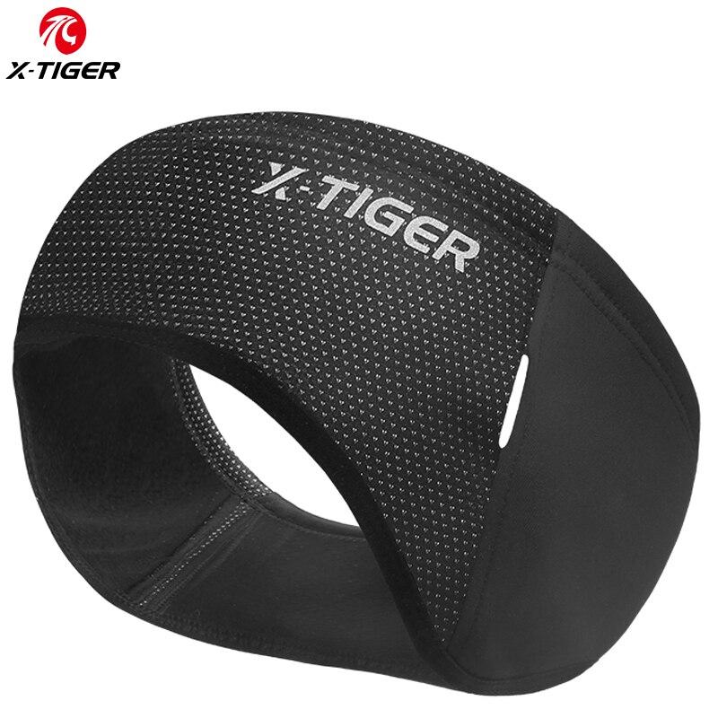 X-TIGER Outdoor Sports Cycling Headwear Winter Windproof Cycling Headband Cap Keep Warm Fleece Bike Equipment Ear Warmer
