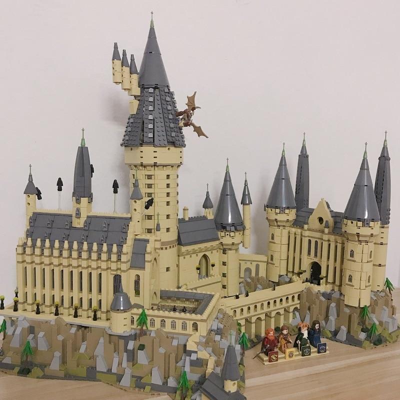 6742 pièces compatibles legoinglys 16060 château modèle film château modèle magique bloc de construction briques jouets enfants cadeau ville 71043 - 3
