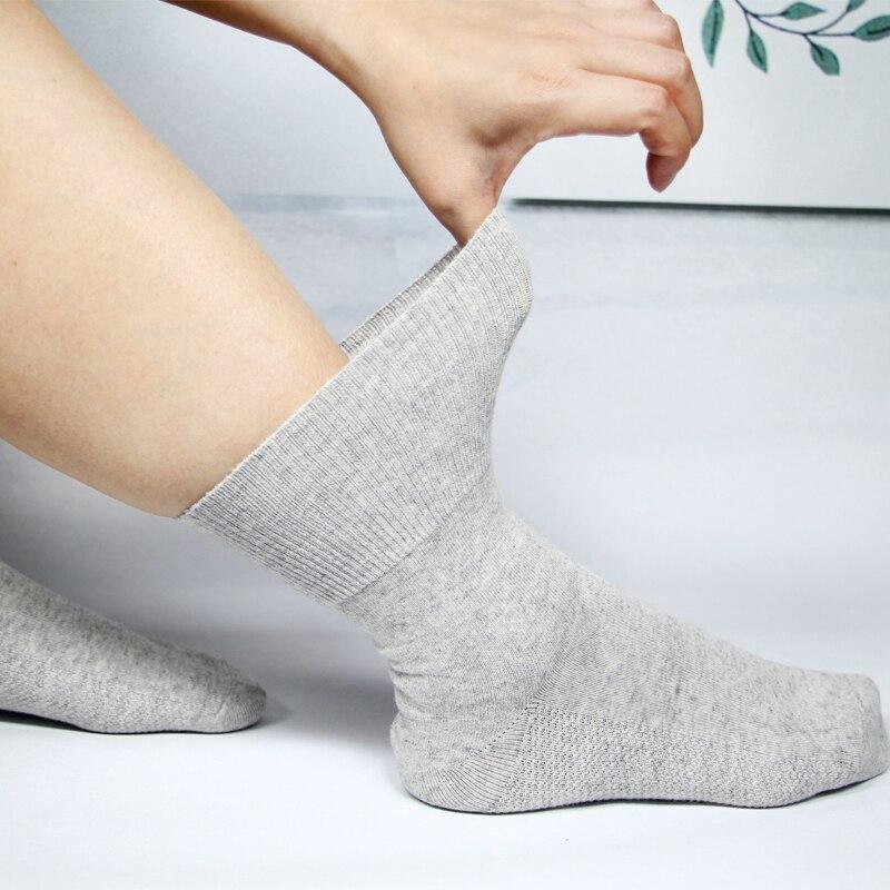 Носки для диабетиков, носки для предотвращения варикозного расширения вен, для диабетиков, для пациентов с гипертензией, из бамбукового хло...