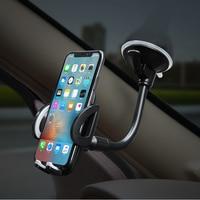 حامل هاتف لوحة سيارة الزجاج الأمامي حامل الهاتف الخليوي الهاتف المحمول جبل حامل آيفون 11X6s شاومي redmi نوت 8 برو