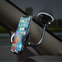 Soporte para salpicadero de coche, montura para teléfono móvil, parabrisas, Material ABS