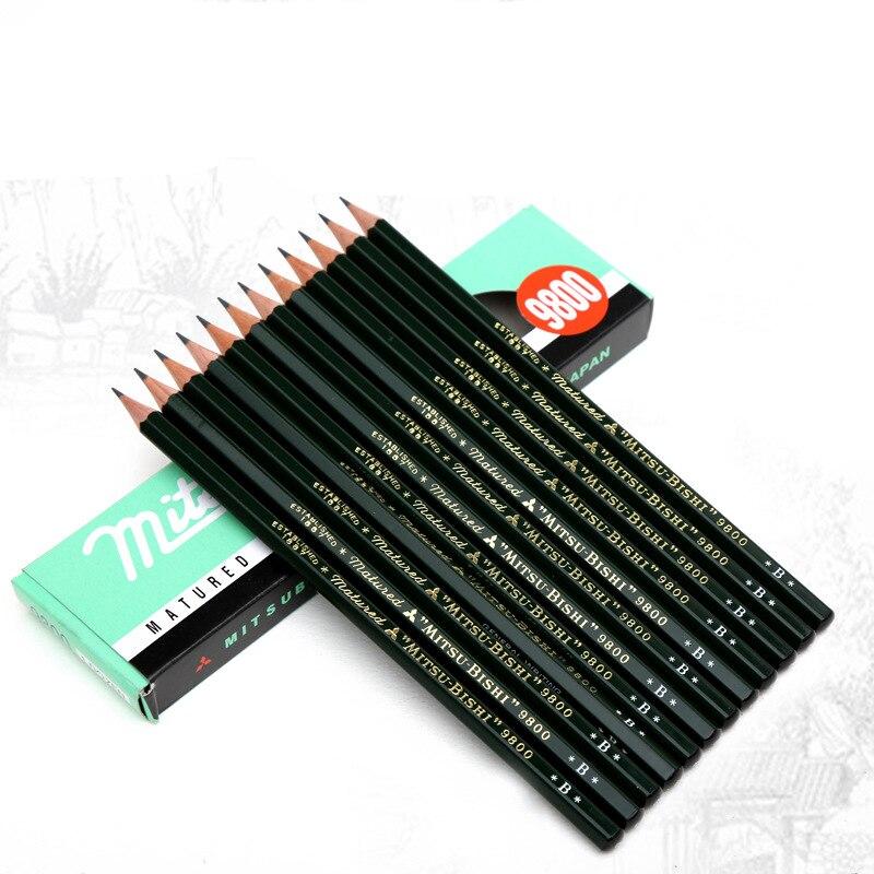 Chung Hua 12 Pieces//Box 2H 2B HB Sketch Drawing Pencil Set Best Quality