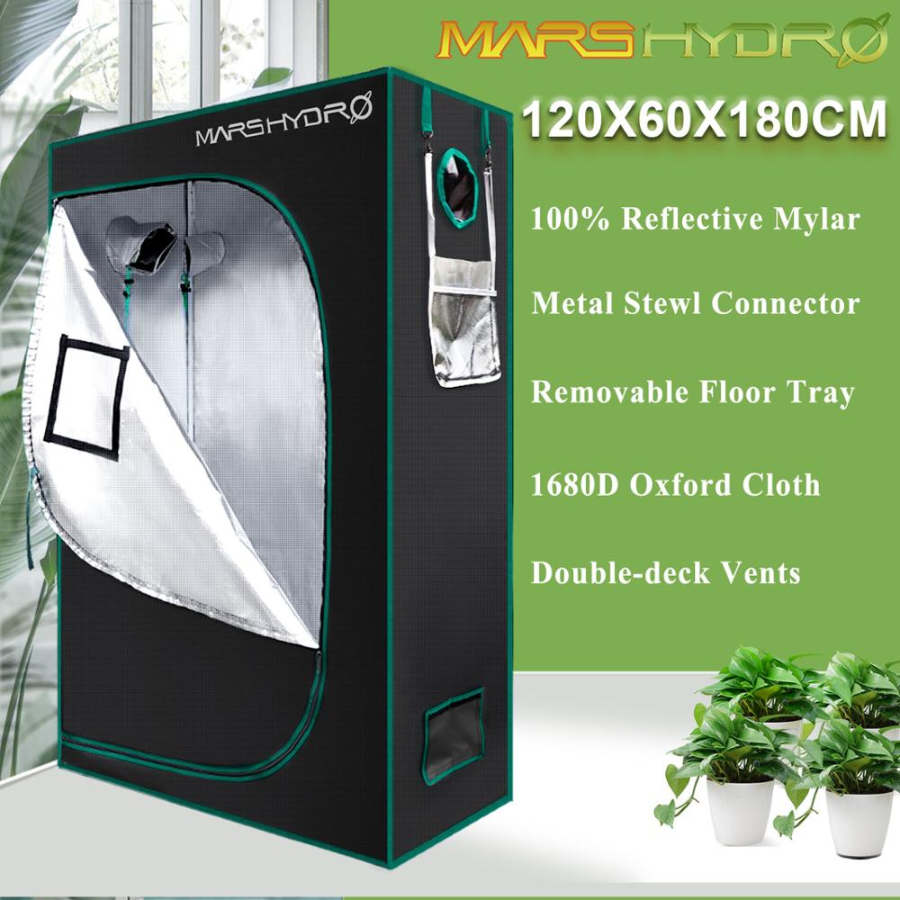 120x60x180cm Mars Hydro Indoor Grow Tent Hydroponic Lamp Non Toxic Room Box