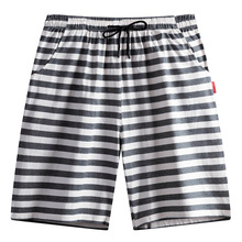 Plus Size Pajamas Sleepwear Men Summer Cotton Shorts Thin Section 5 Minutes Of Pants Loose Pants In The Leisure Wear Underpants