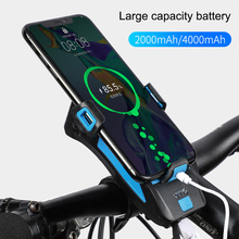 4-in-1 Multifunciton Bicycle Front Light