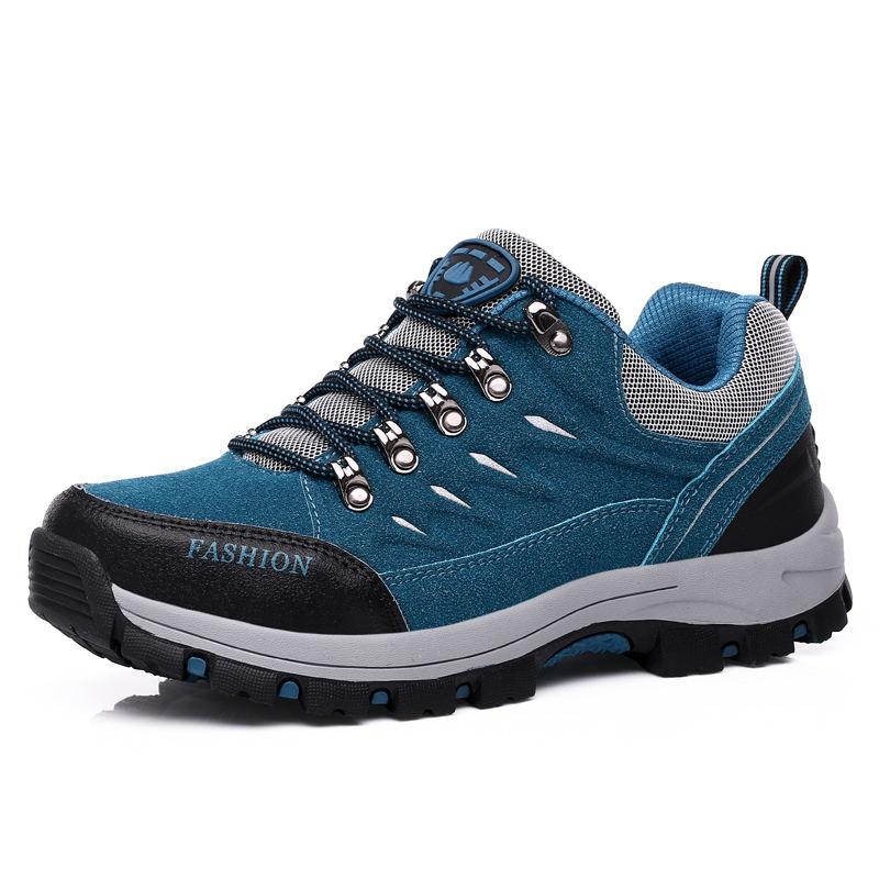 Merk 2020 Lente Zomer Unisex Wandelen Sneakers Voor Mannen Schoenen Suede Out Deur Ademend Mannelijke Schoeisel Volwassen Werk Veiligheid