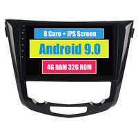 "RoverOne Radio GPS de coche para Nissan X-Trail Xtrail de 2014, 2015, 2016, 2017 Android 9,0 de 10,2 ""Octa Core pantalla táctil reproductor Multimedia"