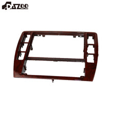 Dazoo 3b0858069 interior dash center console guarnição moldura do painel de rádio face quadro para passat b5 2001 2002 2003 2004 2005