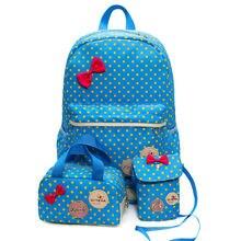 Новый модный холщовый женский рюкзак японский и корейский школьный