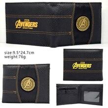 Summer Style Fashion Men Wallets Comics Marvel The Avengers America captain Purs