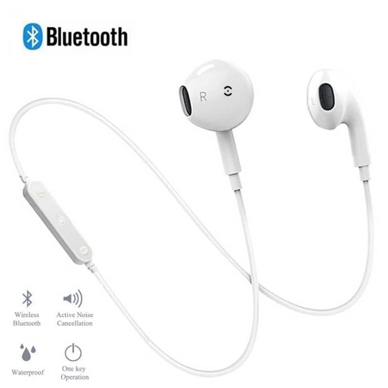 S7 Wireless Earphone Earbuds Headset Handsfree Headphone Sport Neckband Bluetooth Earphone with Mic For Samsung Huawei All Phone