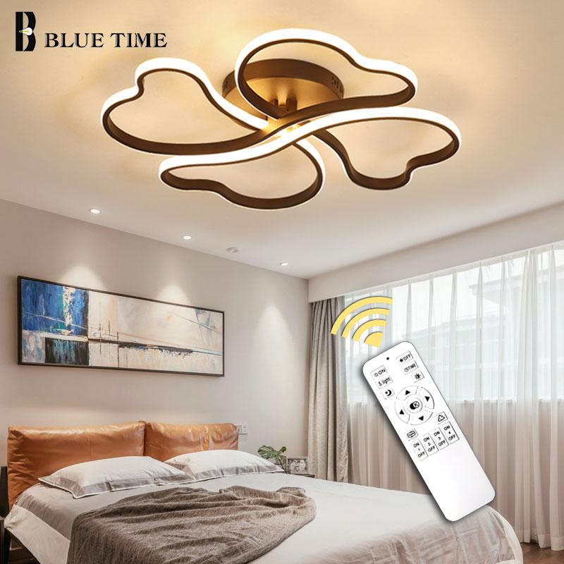 Modern LED Ceiling Lights Remote control for Living room Bedroom 42cm 58cm 72cm Aluminum indoor Lamp flush mount ceiling light