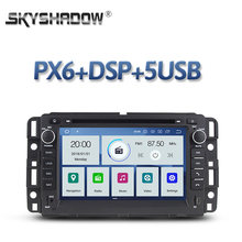DSP IPS PX6 Android 10 4GB + 64GB Bluetooth Wifi RDS Radio Auto DVD Player für GMC Chevrolet tahoe YUKON Acadia Buick Enclave(China)