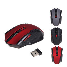 2.4G Hz 1600DPI Wireless Optical Mouse USB Gulir Mouse untuk Tablet Laptop untuk Gamer Keyboard 3 Warna Tikus untuk gaming Mouse Hot(China)
