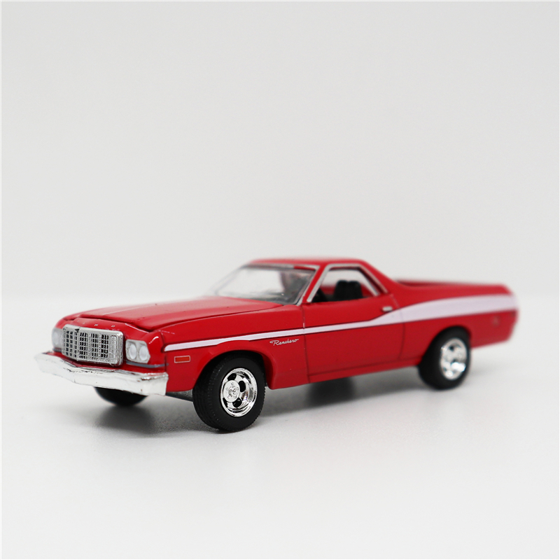 Greenlight 1:64 Ford Ranchero Red/White No Box