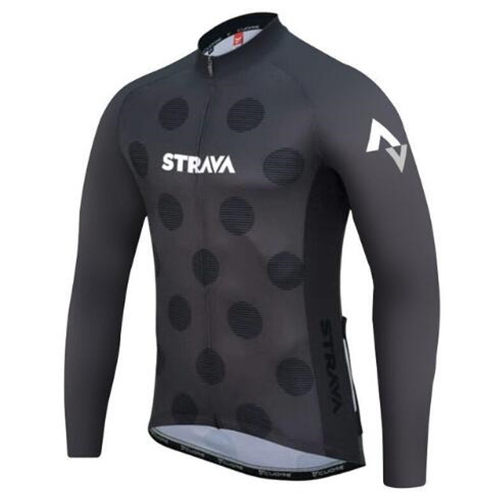 6XL 2019 Gray <font><b>STRAVA</b></font> Cycling Clothing <font><b>Bike</b></font> Jersey Quick Dry Mens Bicycle <font><b>Shirts</b></font> Long Sleeve Pro Cycling Jerseys <font><b>Bike</b></font> Maillot image