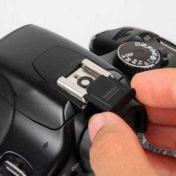Cubierta protectora para Zapata en blanco y negro para SONY A6500, A7R, II, EOS, M3, Fuji, X-T20 2, para Sony X-PRO
