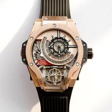 Zegarek zegarki człowiek dla mężczyzn mężczyzna 2020 mechaniczne moda na rękę styl plac Warcraft osobowości tanie tanio KUERST Nie wodoodporne CN (pochodzenie) Klamra Moda casual Mechaniczna Ręka Wiatr 23inch STAINLESS STEEL Kompletna kalendarz