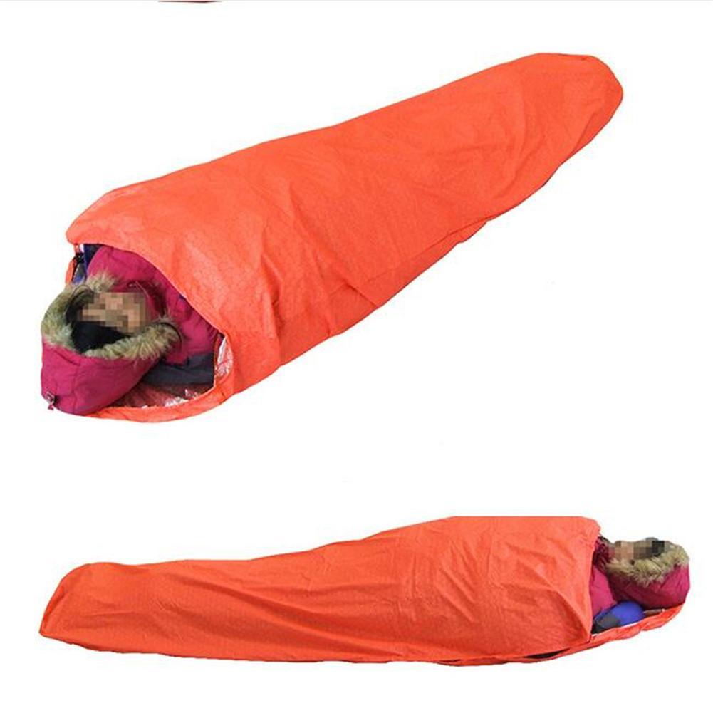 ao ar livre resgate de emergencia cobertor saco dormir termico 05