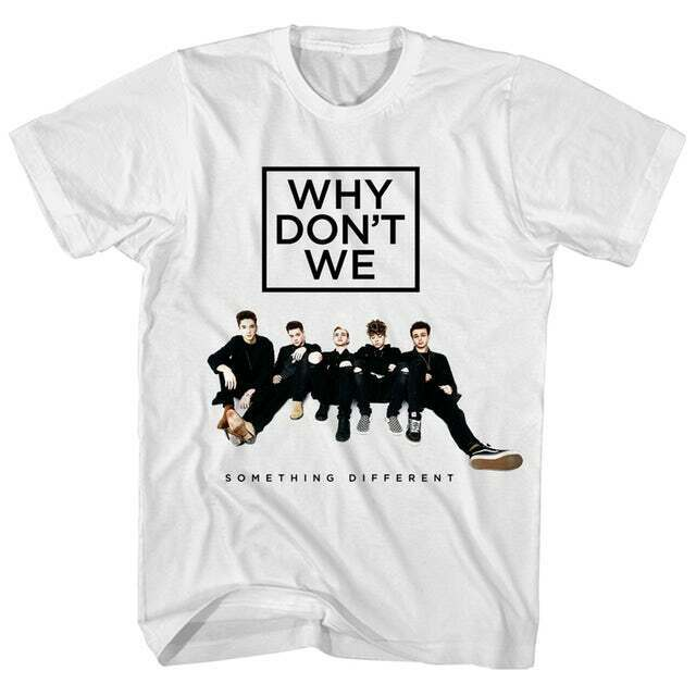 Why Don'T We T-Shirt Something Different Tour Why Don'T We T-Shirt Ab243